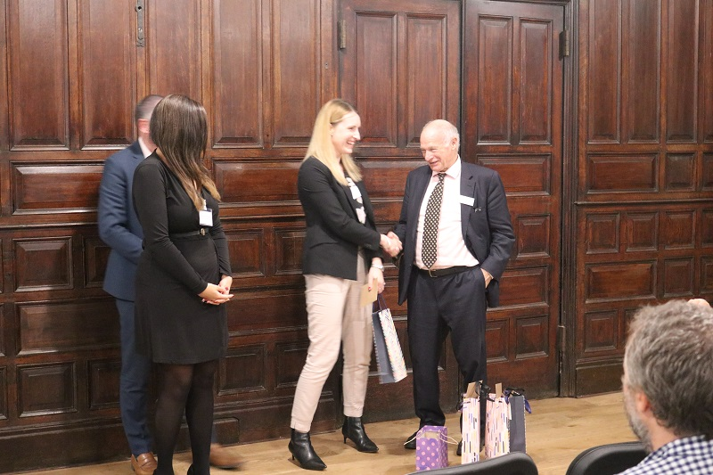 Lord Neuberger presents awards to FLAC volunteers
