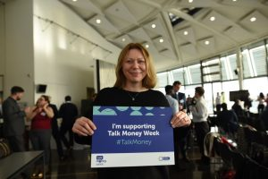 Sian Williams supporting Talk Money Week