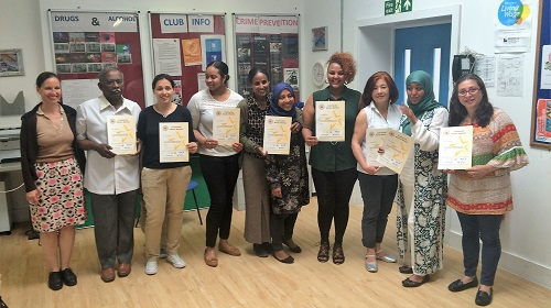 Graduates from a Money Mentors Course