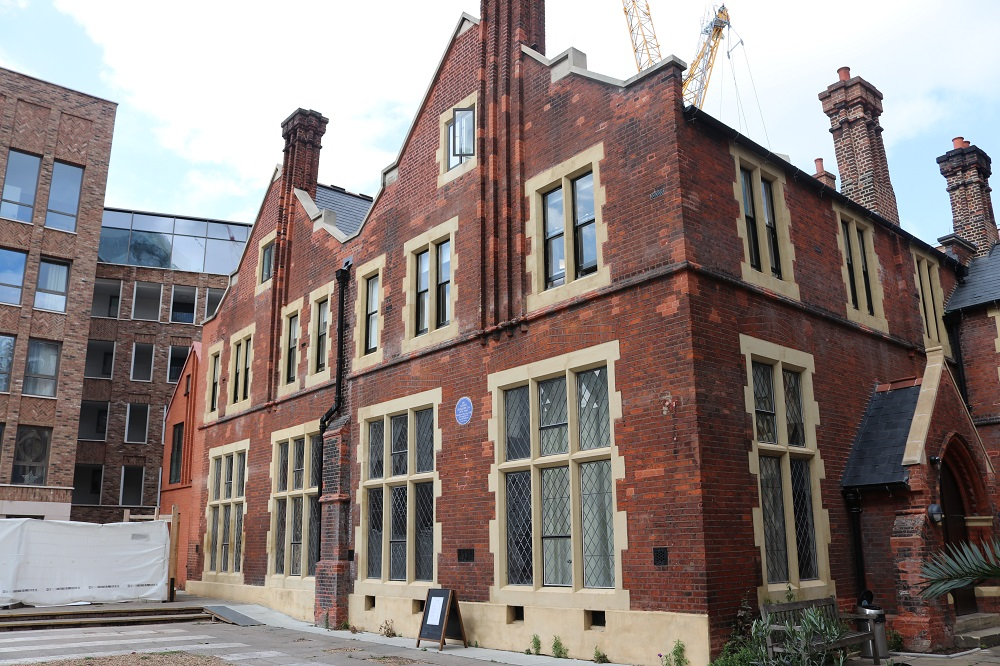 Our new offices sit above our historic halls