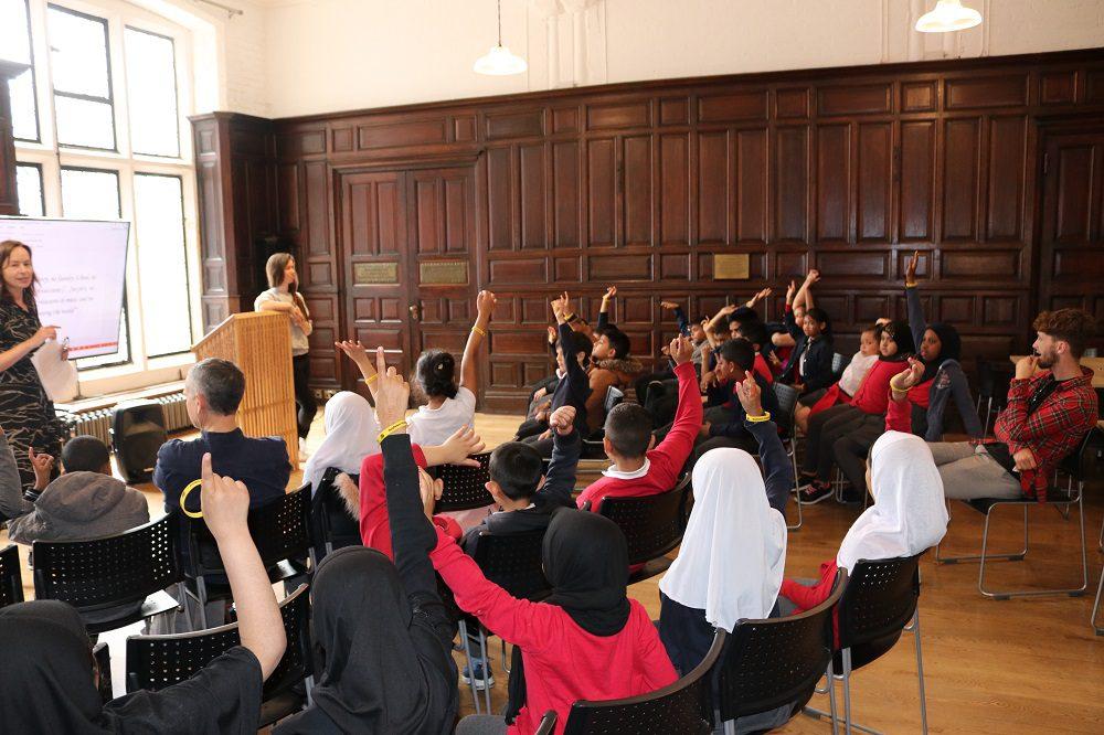 Mayflower Primary School Social Change Workshop