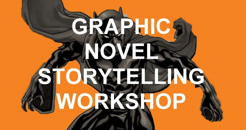 Graphic Novel and Comic Strip Making Session