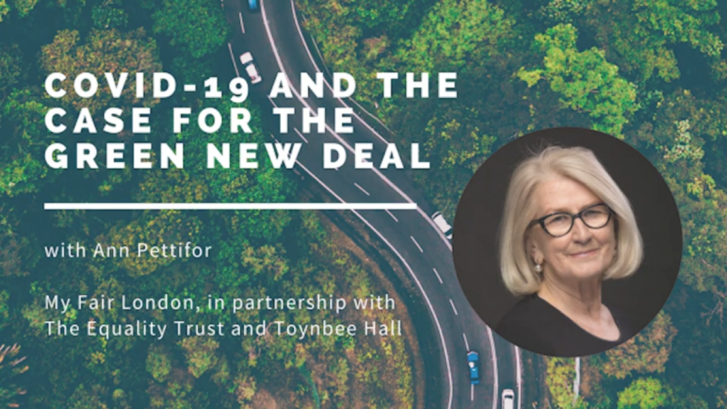 Covid-19 and the case for the Green New Deal