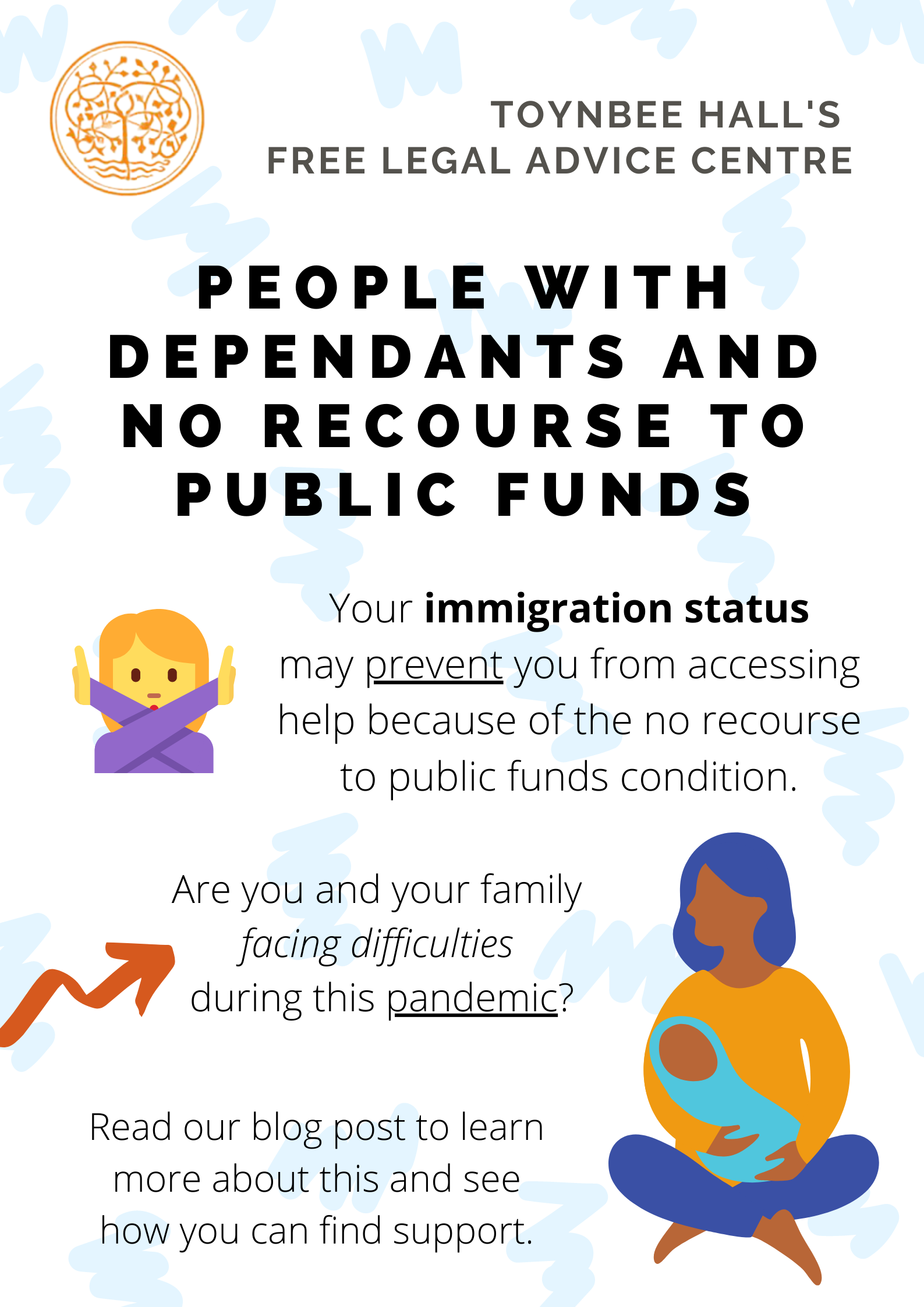 No recourse to public funds - people with dependants