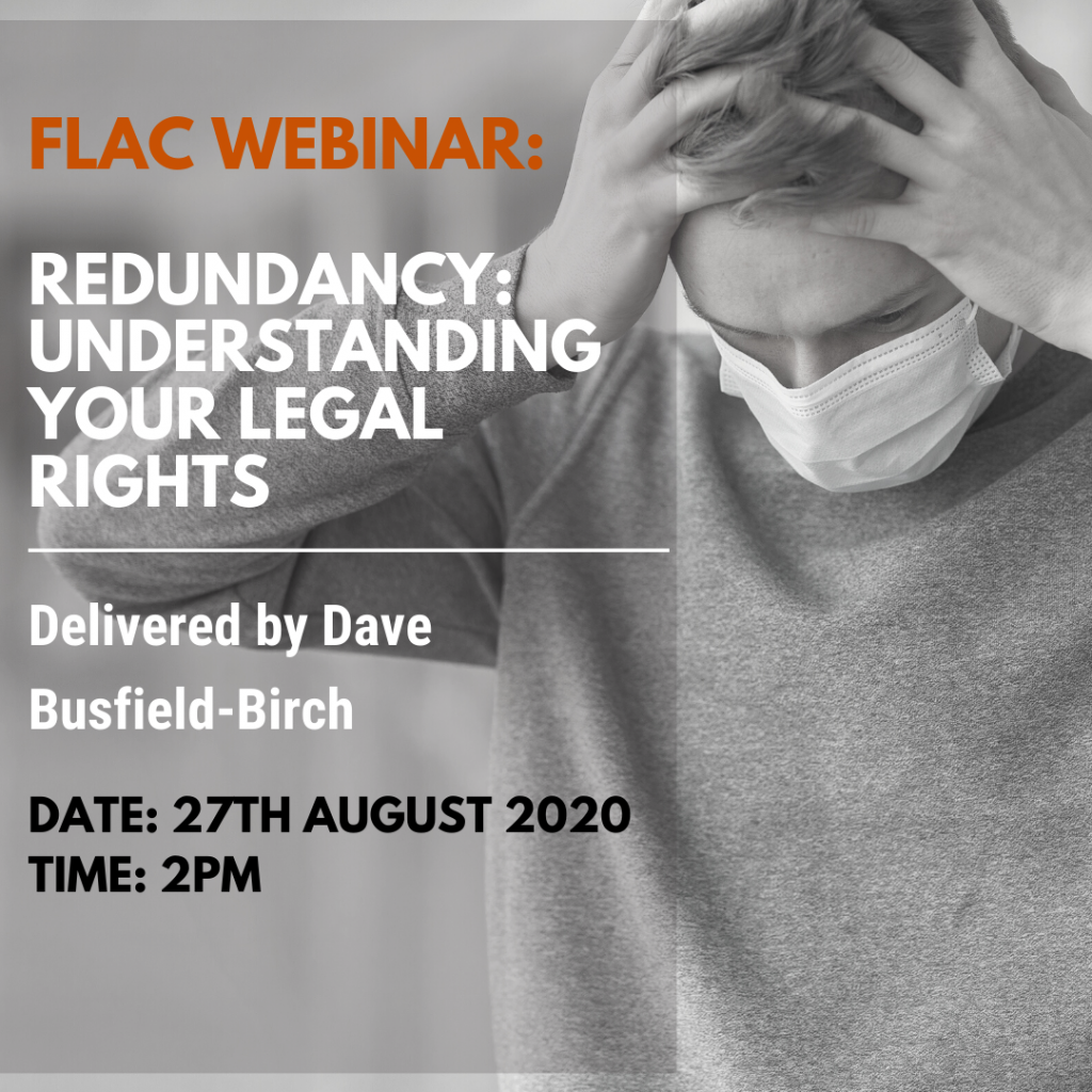 FLAC webinar: Redundancy - Understanding your legal rights