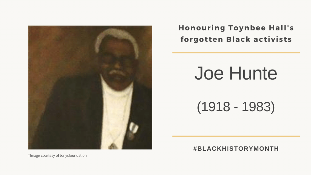 Joe Hunte- Community Activist