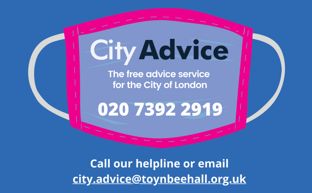 City Advice - the free advice service for the City of London Mask image