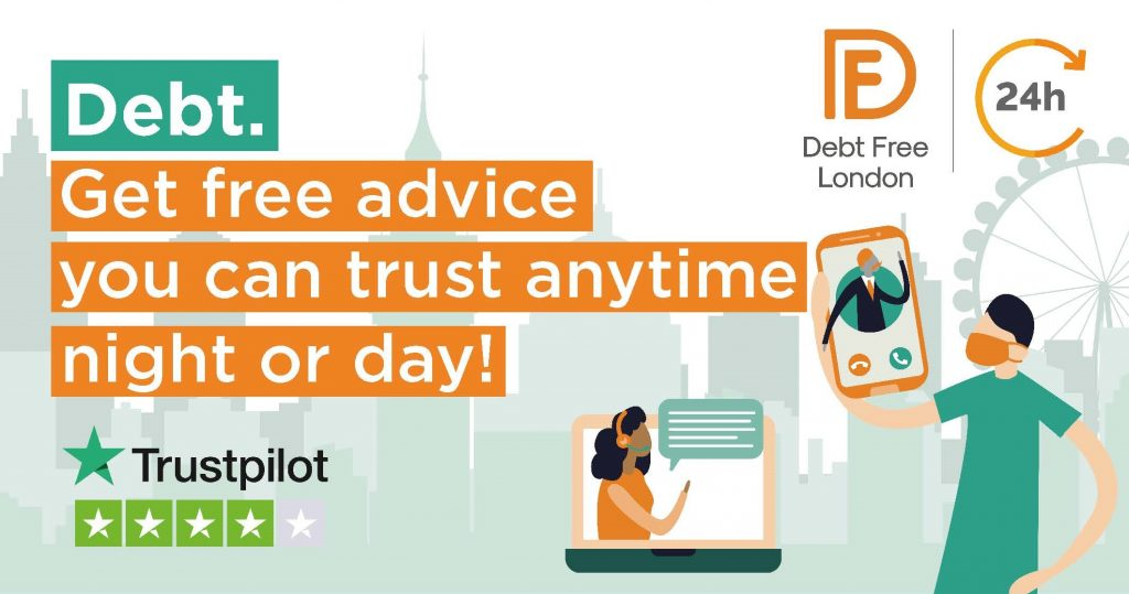 Debt Free London to offer 24/7 debt advice during January