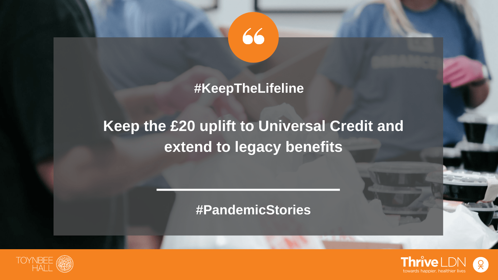 Keep the Lifeline Campaign image