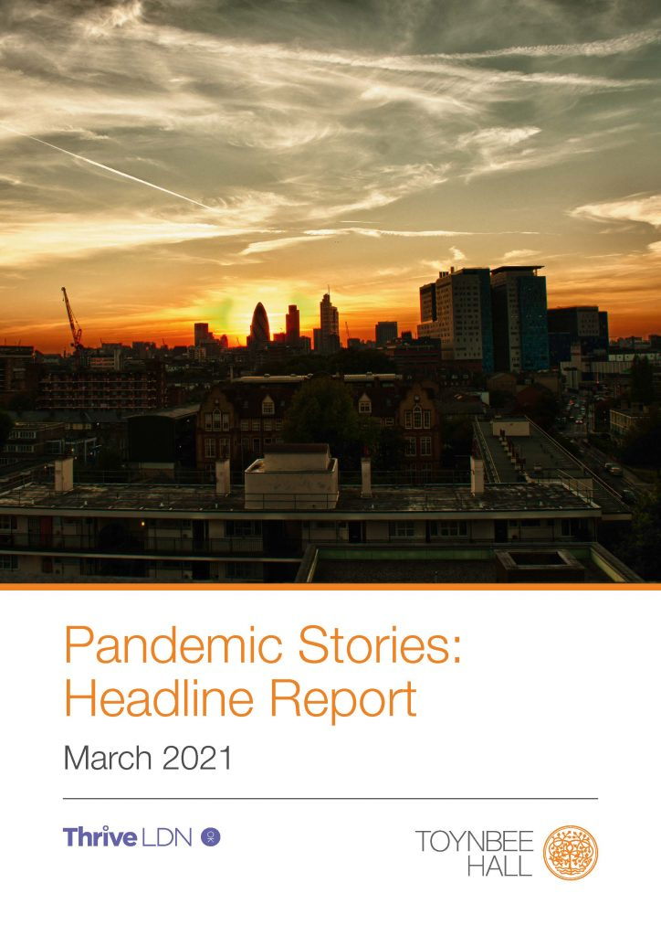 Pandemic Stories Research findings report