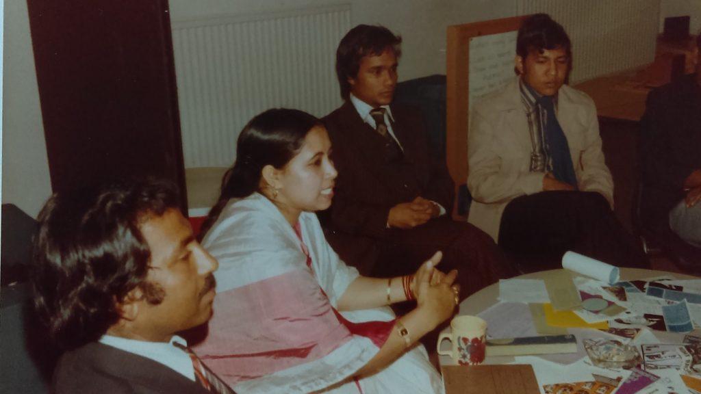 Bengali Health Advisory Service Meeting 1984
