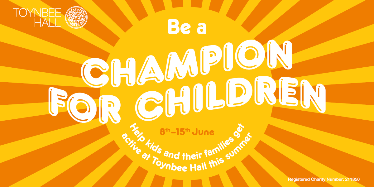 Be a Champion for Childtren banner