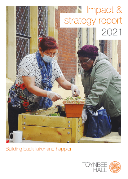 2021 Impact and Strategy Report - Building back fairer and happier
