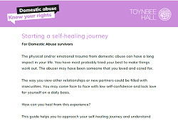 Starting a self-healing journey For Domestic Abuse survivors