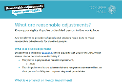 What are reasonable adjustments? Know your rights if you're a disabled person in the workplace