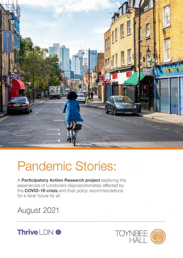 Pandemic Stories full findings cover