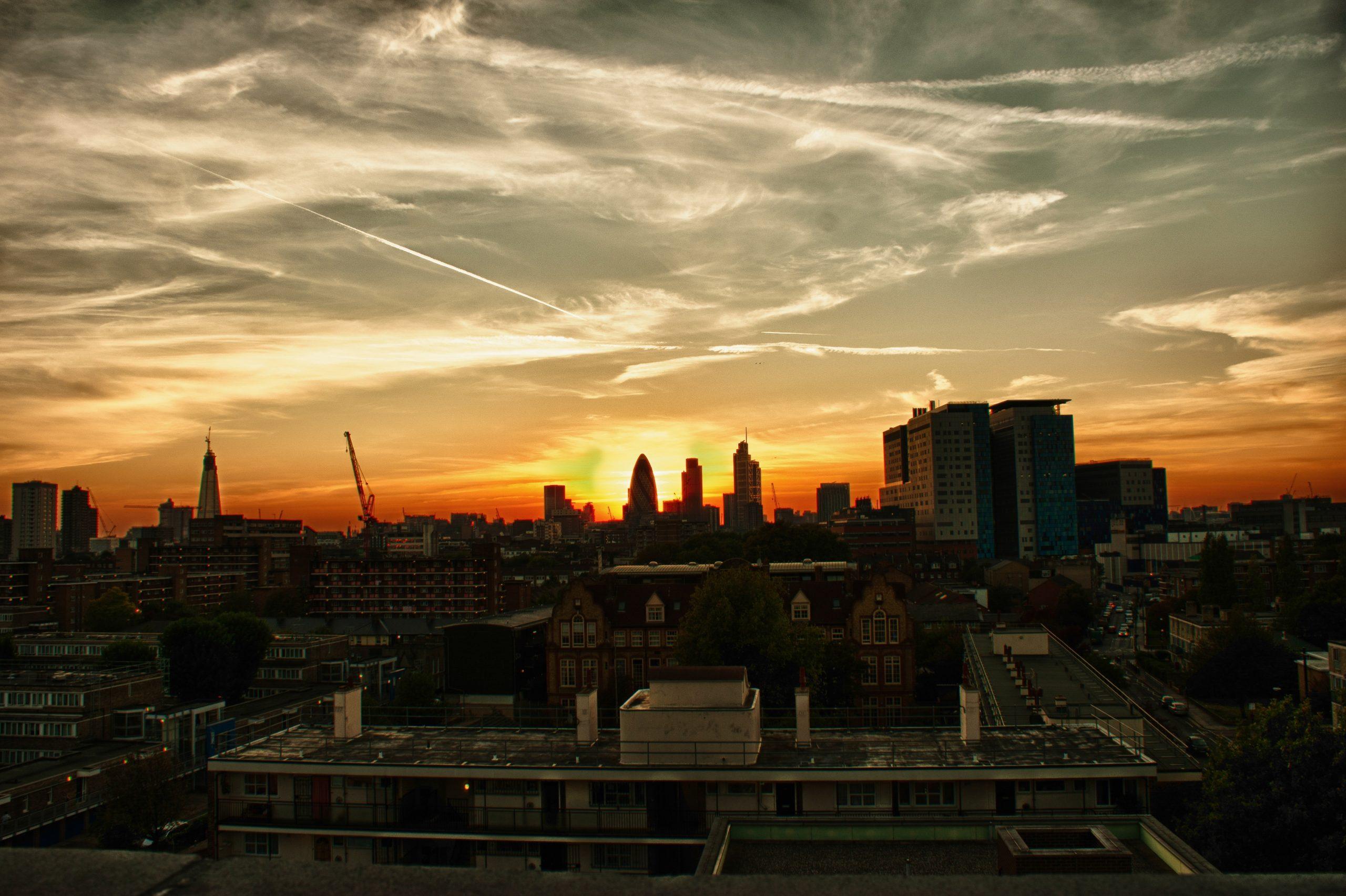 Tower Hamlets sunrise